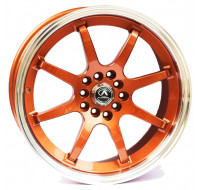 Диски Alexrims AFC-2 (forged) W8 R17 PCD5x100 ET42 DIA67.1 bronze + polished rim
