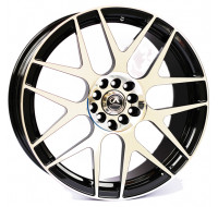 Диски Alexrims AFC-3 (forged) W8.5 R19 PCD5x130 ET50 DIA71.6 polished surface + black insid