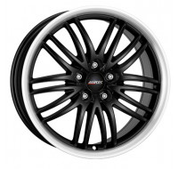 Диски Alutec Black Sun W8.5 R18 PCD5x115 ET40 DIA70.2 racing black lip polished