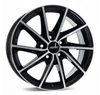 Диски Alutec Singa W7 R17 PCD5x112 ET49 DIA57.1 diamond black front polished
