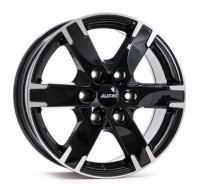Диски Alutec Titan W7 R16 PCD6x130 ET55 DIA84.1 diamond black front polished
