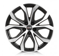 Диски Alutec W10 W9 R20 PCD5x127 ET52 DIA71.6 racing black front polished