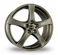 Диски Borbet F2 W6 R16 PCD5x114.3 ET45 graphite front polished