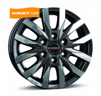 Диски Borbet CW6 W7.5 R18 PCD6x114.3 ET40 DIA66.1 mistral anthracite polished