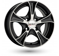 Диски Disla Luxury W7 R16 PCD5x100 ET38 DIA67.1 Black Diamond
