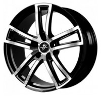 Диски Fondmetal Tech 6 W7.5 R17 PCD5x108 ET45 DIA65.1 black polished