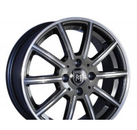 Диски Marcello MR-11 W6.5 R16 PCD5x114.3 ET38 DIA73.1 AM/GM