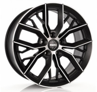 Диски Momo Massimo W7.5 R17 PCD5x114.3 ET40 DIA72,2 matt black diamond cut