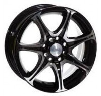 Диски Racing Wheels H-134 W6 R14 PCD4x114.3 ET35 DIA67.1 BK-F/P