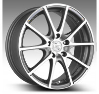 Диски Racing Wheels H-490 W6.5 R15 PCD5x100 ET35 DIA67.1 DDN-F/P