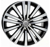 Диски WSP Italy Volkswagen (W462) Altair W7.5 R17 PCD5x112 ET49 DIA57.1 gloss black polished