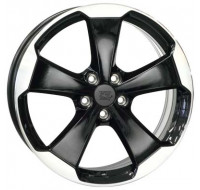 Диски WSP Italy Volkswagen (W465) Laceno W7.5 R18 PCD5x112 ET51 DIA57.1 gloss black polished