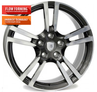 Диски WSP Italy Porsche (W1054) Saturn W9 R20 PCD5x130 ET60 DIA71.6 anthracite polished