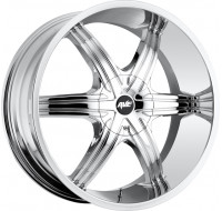 Диски MKW (Mi-tech) A-606 W7.5 R18 PCD5x112 ET40 DIA114.3 chrome