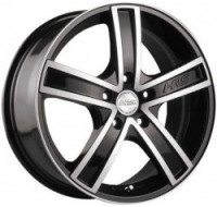 Диски Racing Wheels H-412 W6 R14 PCD4x114.3 ET38 DIA67.1 BKFP