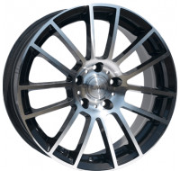 Диски Racing Wheels H-408 W7.5 R17 PCD5x112 ET35 DIA73.1 BKFP