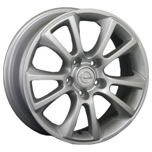 Replica Opel (OPL2) W6.5 R16 PCD5x110 ET37 DIA65.1 silver