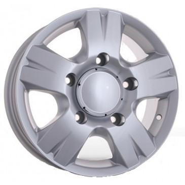 Storm W-604 W6.5 R16 PCD5x130 ET55 DIA84.1 silver