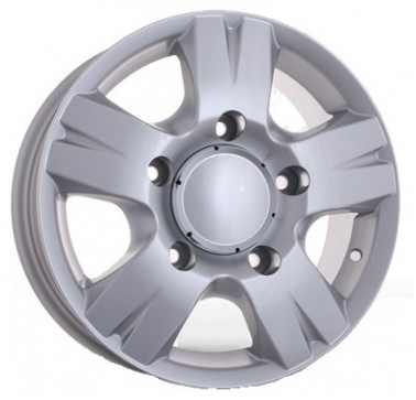 Диски Storm W-604 W6.5 R16 PCD5x130 ET55 DIA84.1 silver