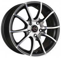 Диски Racing Wheels H-470 W6.5 R15 PCD5x114.3 ET40 DIA67.1 BK-F/P