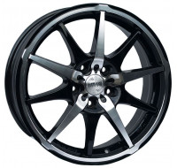 Диски Racing Wheels H-410 W7 R17 PCD5x112 ET40 DIA73.1 BKFP