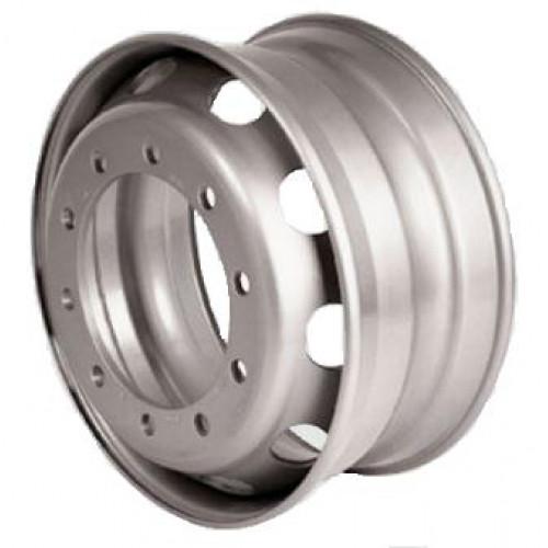 SRW Steel W6.75 R17.5 PCD6x222.25 ET131 DIA164 metallic