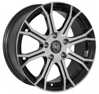 Диски Marcello MR-35 W7 R16 PCD5x108/110 ET38 DIA73.1 silver