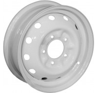 Диски Кременчуг УАЗ W6.5 R16 PCD5x139.7 ET40 DIA108.5 серебро