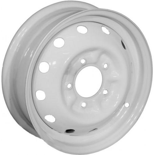 Кременчуг УАЗ W6 R15 PCD5x139.7 ET22 DIA108.5 белый